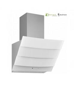 Silverline Green-Tech 3370 Dekoratif Camlı Duvar Tipi Beyaz Davlumbaz 60cm