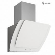 Ankastre - Silverline 3373 Misto Beyaz 60 Cm Dekoratif Camlı Duvar Tipi Davlumbaz