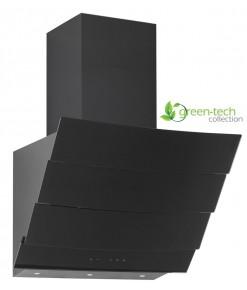 Silverline Green-Tech 3370 Dekoratif Camlı Duvar Tipi Davlumbaz 60cm Siyah